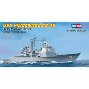 USS Vincennes Cg49 Guided Missile Cruiser 1 1250 Hobby