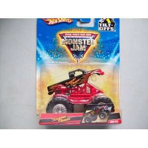 : Hot Wheels Monster Jam Screamin Demon Monster Truck: Toys & Games
