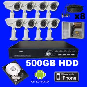 CH Channel Standalone DVR H.264 iphone CCTV Package