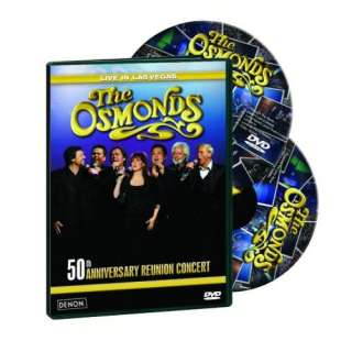 Osmonds 50th Anniversary Concert 2 DVD set 30 tracks +