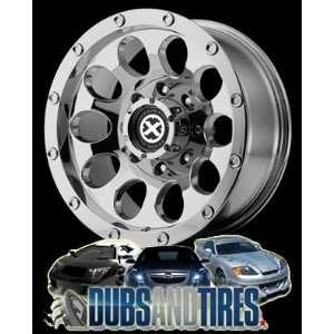 16 Inch 16x8 AMERICAN RACING ATX wheels SLOT Chrome wheels