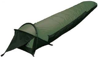 CHINOOK SUMMIT BIVY SLEEPING BAG OLIVE W/HEAD CANOPY