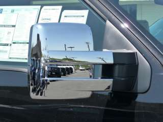 2011 FORD F 150 3X CHROME TOWING MIRROR COVERS By TFP (FULL WARRANTY