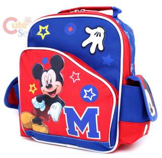 Disney Mickey Mouse School Backpack Bag 10 Small