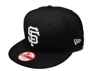 MLB Baseball Snapback San Francisco Giants Black Cap Throwback