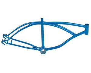 Blue Lowrider bike Frame.lowrider bicycle frame.lowrider frame. 32740