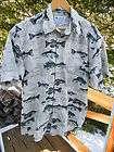Harley Davidson Mens Short Sleeve Button Up Camp Shirt L Large