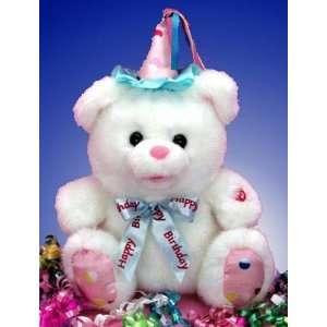 Singing Birthday Teddy Bear 12 Plush  Grocery & Gourmet