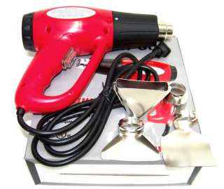 SPEED ELECTRIC HEAT GUN UL LISTED WITH ACCESSORIES 1500W