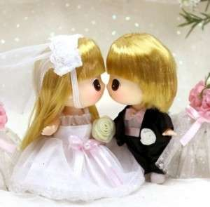 Lovely Cute Collectible Doll Mini Wedding Couple DDUNG