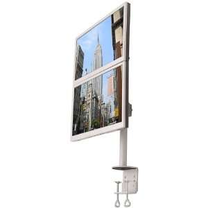 LCD 196A Vertical Dual LCD Monitor Desk Mount Stand: Electronics