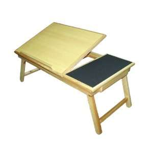 com Space Saver Solid Wood Laptop Bed Tray Multiuse Laptop Table Desk