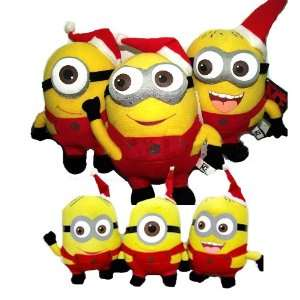 Despicable Me the Movie Minion Christmas Set of 6: Toys & Games