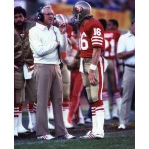 Bill Walsh and Joe Montana San Francisco 49ers 8 X 10