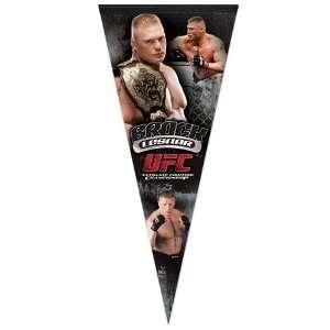 UFC Brock Lesnar 17 x 40 Premium Felt Pennant Sports