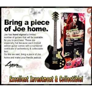 RARE   Joe Trohman Fall Out Boy Limited Edition Authentic