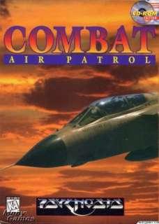 Combat Air Patrol PC CD flight combat simulation game