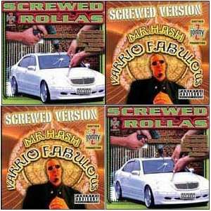 2CD Set Jonny Z, Mr. Hash, South Park Mexican, J Loc
