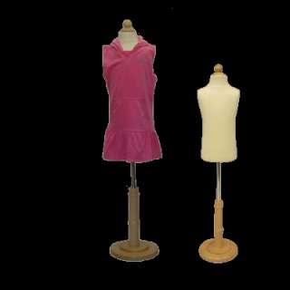Child / Kids Dress Form Mannequin Manikin Body Form, 3/4 yrs #BF C 3T
