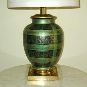 VG Frederick Cooper Hollywood Regency Porcelain Lamp |