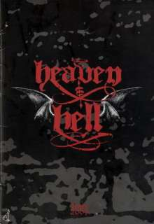 BLACK SABBATH 2007 HEAVEN AND HELL TOUR PROGRAM BOOK