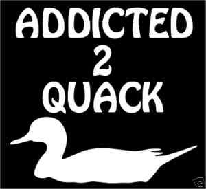 Country Gun Duck Hunting Decoy Decal 4 Truck Tractor??