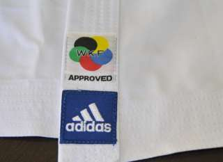 adidas Karate WKF Champion 14oz GI  American cut