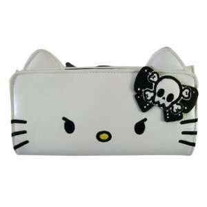 Loungefly Trifold Leather Hello Kitty Wallet   Punk Rock