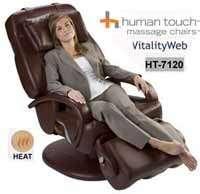 NEW Espresso Human Touch HT 7120 Massage Chair + HEAT