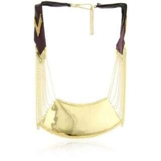 Fiona Paxton Tribal Goddess Starlight Metal Plate Collar   designer