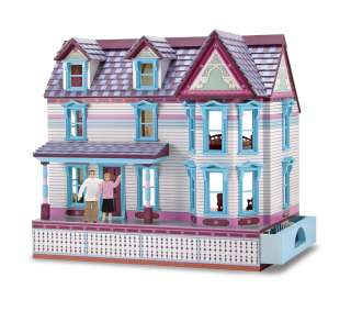 Black African American Doll House Family of Four 112