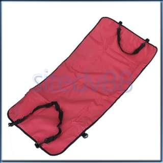 Red Waterproof Hammock Pet Dog Cat Car Mat Seat Cover Blanket