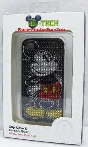 Mickey Mouse Sparkle iPhone 4/4S Case & Screen Protector Disney Parks