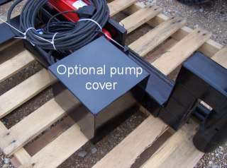 Pump cover for JSB Haldex 12 volt hydraulic pump
