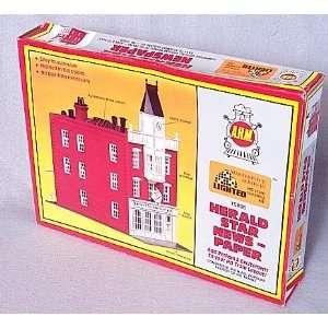 Newspaper HO Scale Model Train / Railroad Building Kit Toys & Games