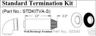 Rinnai horizontal vent kit for R75/94SLi current series