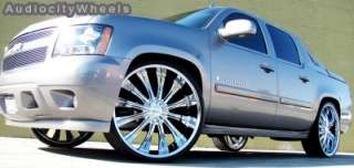 28inch Wheels,Rims Chevy Ford Escalade Ram Tahoe F150