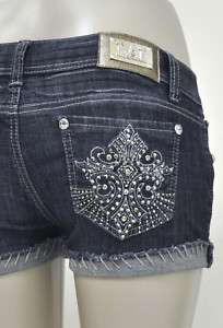 La Idol Shorts with Jewel Desing Sz S L