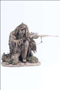 MCFARLANE ARMY SF SPECIAL FORCES SNIPER GHILLIE SUIT MILITARY FIGURE