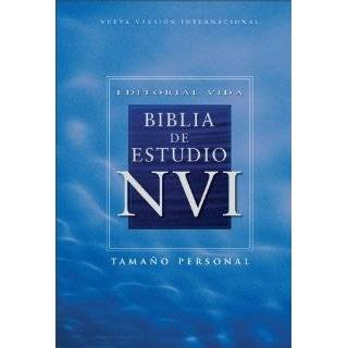 Editorial Vida Biblia de estudio NVI (Spanish Edition)