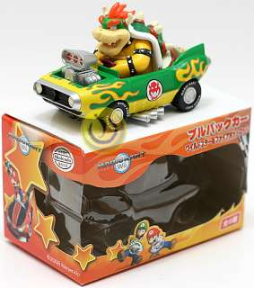 New Nintendo Mario Kart Wii Bowser Pull Back Car