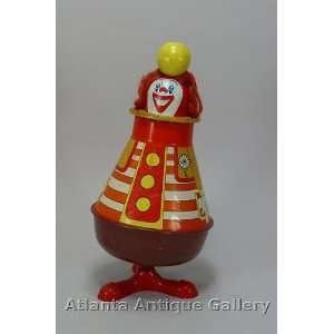 Ohio Art Spinning Top Clown Bozo: Toys & Games