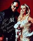 Steve McMichael signed WWE WCW Championship Toy Belt 4 Horsemen 4 Life