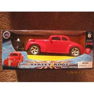 Mega Motors Street Rodz 1939 Chevy Coupe Radio Control: Toys & Games